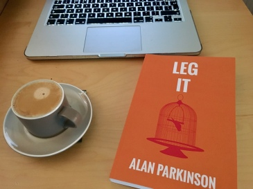 Leg It Alan Parkinson Desk