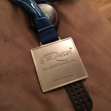 Great North Run medal
