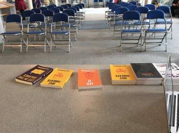 Alan Parkinson books at Sunderland literature festival